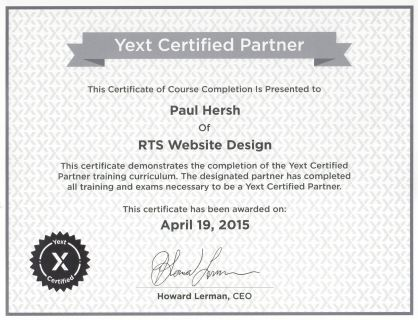 Yext-Certification